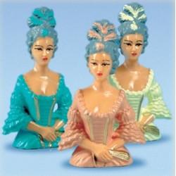 Buste de marquise plastique (lot de 6)