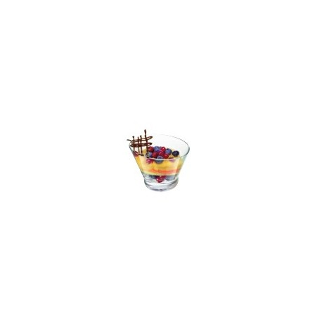 Coupe a glace ovale libbey (x6)