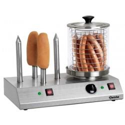 Machine a hot dogs electrique avec 4 plots chauffes