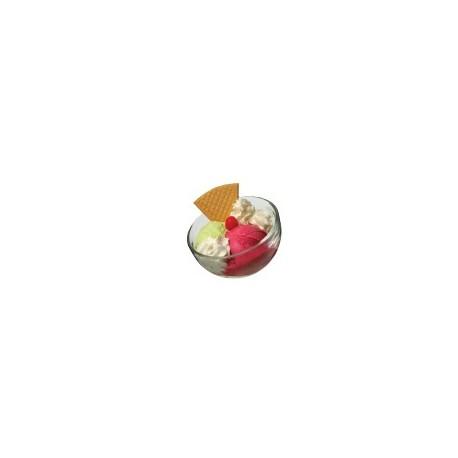 Coupe a glace bubble la rochère, forme inclinée (x6)