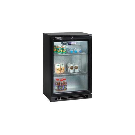 Refroidisseur/vitrine de bouteilles 124 litres, 1 porte