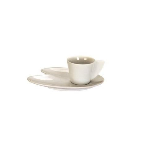 """Tasse a cafe avec sous tasse type """"palette peinture"""" (x6)"""