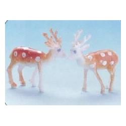 Mini cerf pour orner vos gateaux et buches de noel par 144
