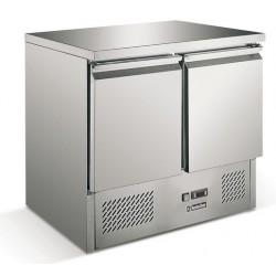 Mini table réfrigérée avec froid ventilé