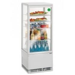 Mini vitrine refrigeree 58 l