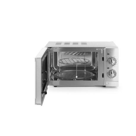 four micro ondes tout inox avec fonction grill. Black Bedroom Furniture Sets. Home Design Ideas