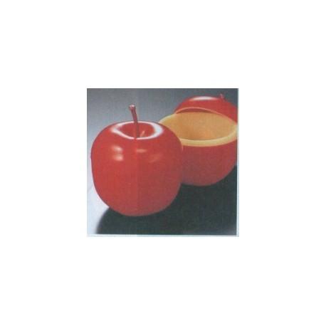 Lot de 6 verrines pomme entière
