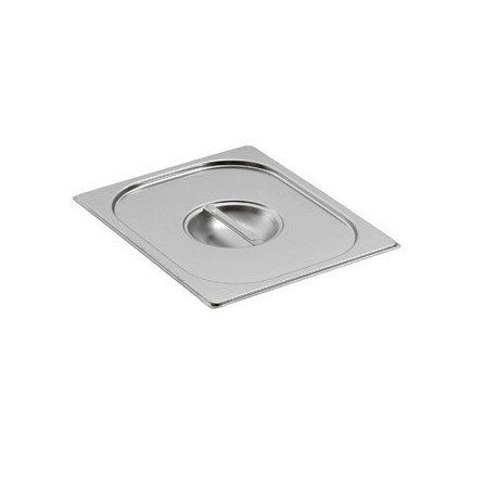 Couvercle inox pour bac gastronorme gn 2/3