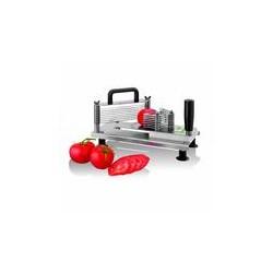 Mini coupe tomates rondelles inox lt