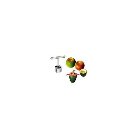 Découpoir à petits farcis, coupelles, bougeoirs fruits et légumes