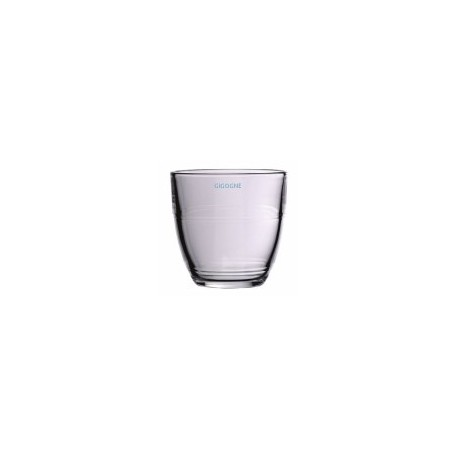 72 verres gigogne en verre trempé 9cl pour café gourmand