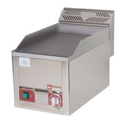"""Plaque de cuisson électrique """"plancha"""", lisse, à top snack line 600"""