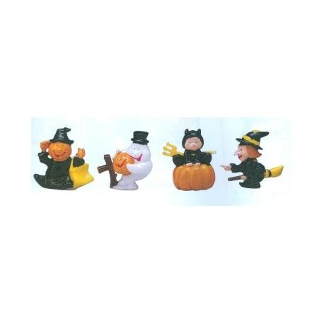 4 sujets plastiques pour feter halloween