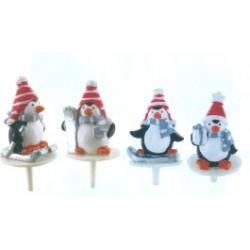 Décors pingouins sports d'hiver P/50