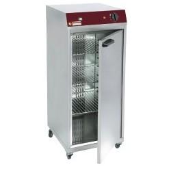 Armoire chauffante ventilee 1 porte battante pour 60 assiettes