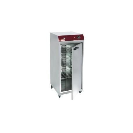 Armoire chauffante ventilee 1 porte battante pour 60 assiettes for Porte assiettes pour cuisine