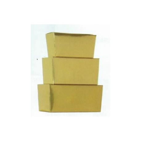Ballotin pour confiseries, chocolat interieur or par 50