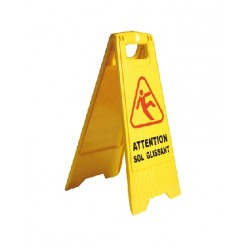 Panneau signalisation ATTENTION SOL GLISSANT