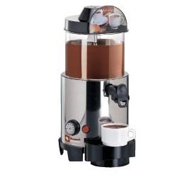 Distributeur de boissons chaudes 5 litres, chocolat, café, thé