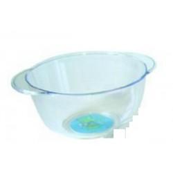 Bol à oreilles sourie verte 3 D transparent PLASTOREX (x12)