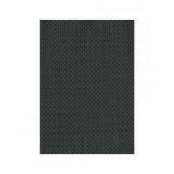 Set de table vynil tissé basket brun noir (x12)