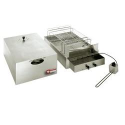 Fumoir électrique pour aliments, 2 étages (400x600 mm + 340x545mm)