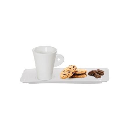 Paire tasse à café douceur Mantille (x12)