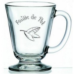 Mug Feuille de Thé LA ROCHERE (x6)