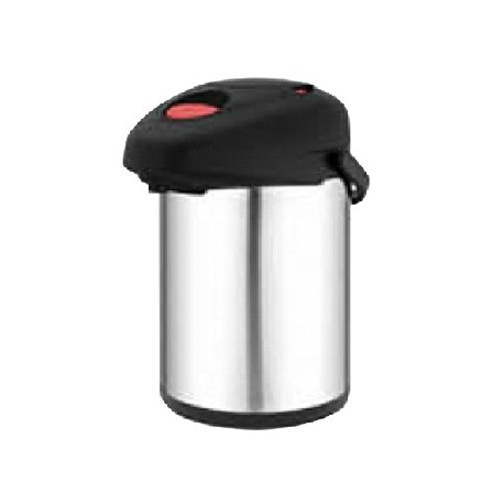 Pichet inox isotherme à pompe