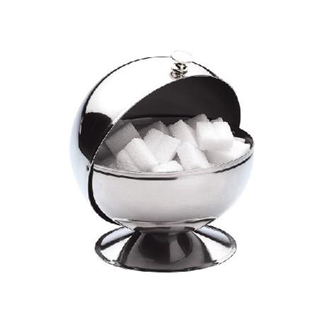 Sucrier boule inox