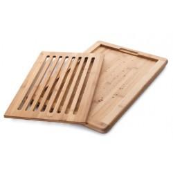 Planche à découper le pain en bambou LACOR 60487