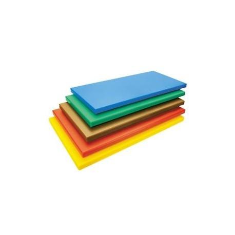 Planche à découper en polyéthylène de couleur (53x32.5cm)