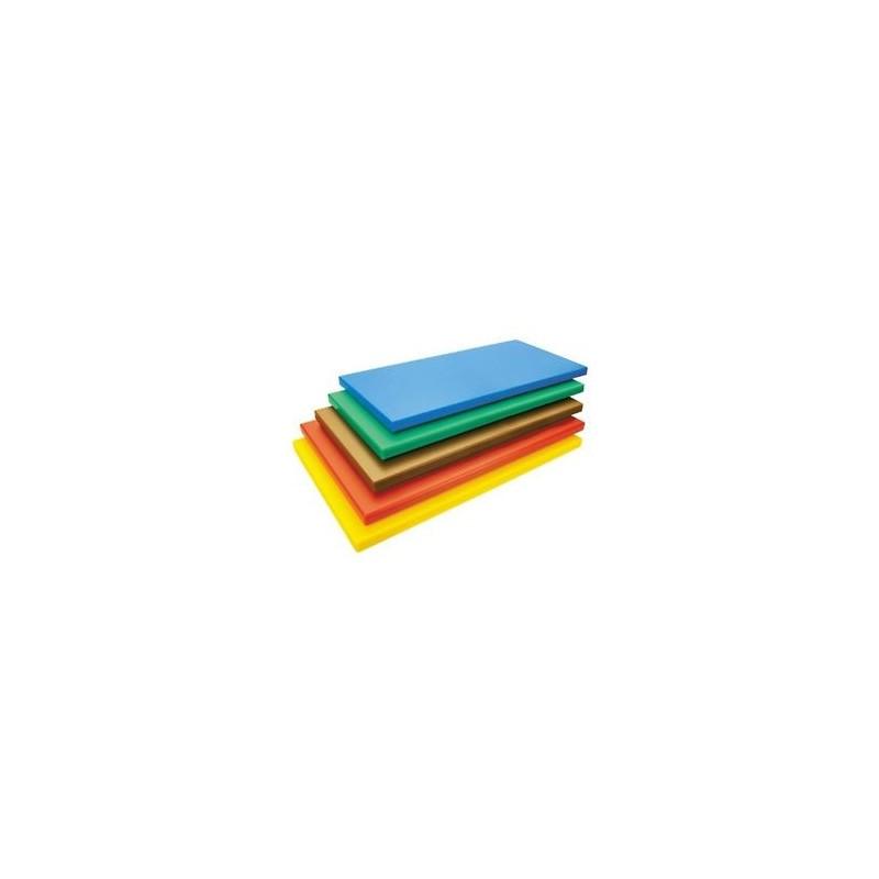 Planche a decouper en polyethylene de couleur - Planche de couleur ...