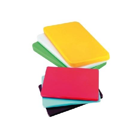Planche à découper en polyéthylène de couleur (45x30cm)