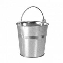 Mini seau en acier galvanisé (par 12)