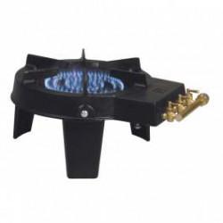 Réchaud tripode en fonte 1 feux gaz