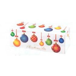 Boîte à bûches, gâteaux longs, cakes merveilleuses fêtes x 25