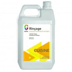 Bidon de 5 litres de liquide de rinçage vaisselle en machine EAU DOUCE