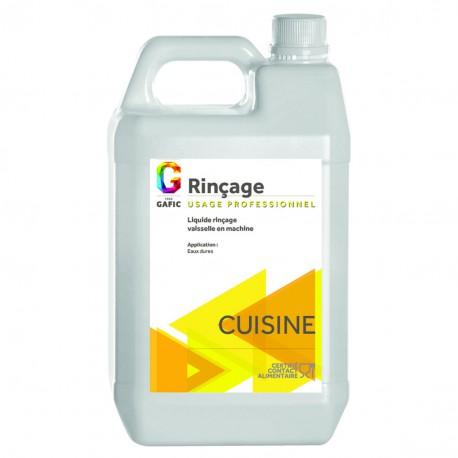 Bidon de 5 litres de liquide de rinçage vaisselle en machine EAU DURE