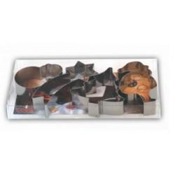 Boîte de 4 nonnettes de noël inox