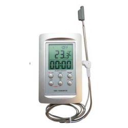 Thermomètre digital pour four avec sonde inox