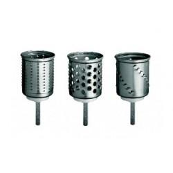 Option de 3 cylindres supplémentaires pour tranchoir/râpe kitchenaid