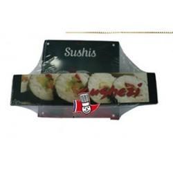 Ustensile pour sushis-makis, avec livre de recettes