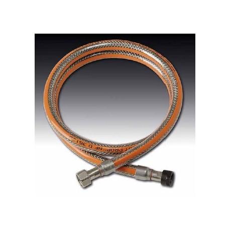 Tuyau flexible visse pour gaz butane et propane