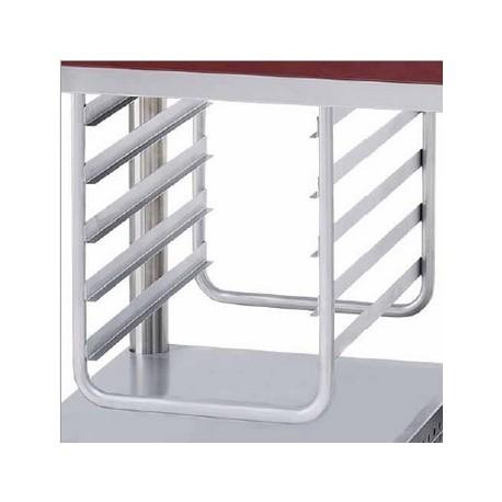 Echelle suspendue gastronorme 1/1, 5 niveaux pour modules mobiles Ambassade