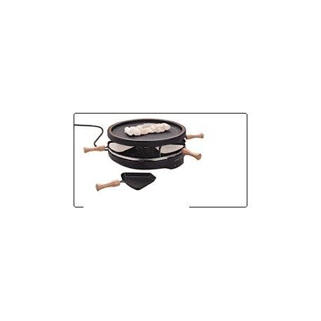 Four/appareil a raclette cervin 6 poelons + gril