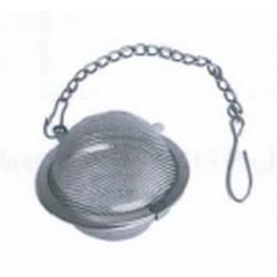 Boule à thé inox avec chaine