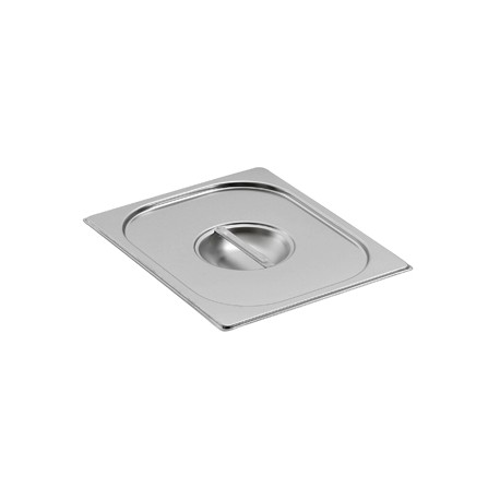 Couvercle inox pour bac gastro gn 1/4