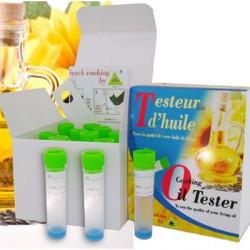 Testeur d'huile oléotest en boîte de 10 test