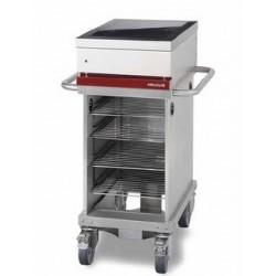 Table de cuisson électrique 2 foyers induction module mobile Ambassade